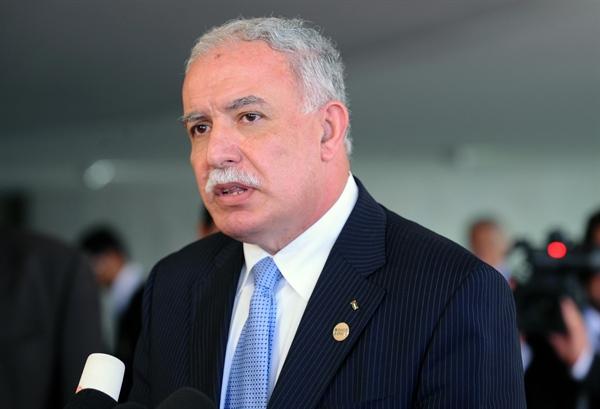 Minister of Foreign Affairs and Expatriates Riyad Al-Maliki
